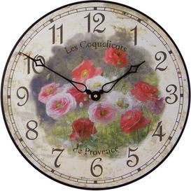 image-36cm Les Coquelicots Wall Clock Roger Lascelles Clocks