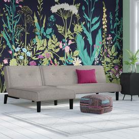 image-Natasha Reversible Chaise Corner Sofa Bed Zipcode Design