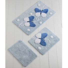 image-Lemasters 3 Piece Rectangle Bath Mat Set Isabelle & Max