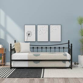 image-Timmothy Single (3') Steel Daybed with Trundle