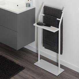 image-Metal Free Standing Towel Rack Sealskin