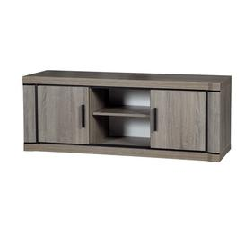 """image-Fong TV Stand for TVs up to 50"""" Mercury Row Colour: Sonoma oak/Sonoma chocolate brown"""