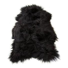 image-Black Icelandic Sheepskin Rug - Sheepskin Rug