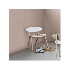 image-Oliver Furniture Kids Wood Pingpong Chair in White & Oak