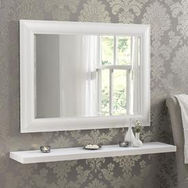 image-Abbeyville Rectangle Framed Wall Mounted Accent Mirror