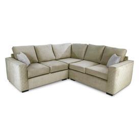 image-Carney Corner Sofa Brambly Cottage Upholstery Colour: Grey