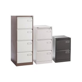 image-Executive Filing Cabinet, White, Free Standard Delivery