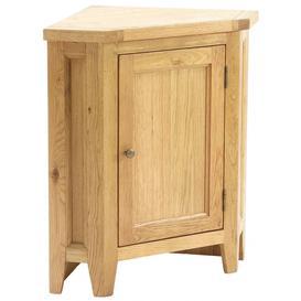 image-Vancouver Petite Oak Corner Lamp Table - Besp Oak
