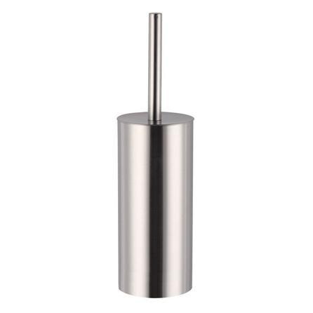 image-Brushed Metal Toilet Brush Brushed Steel