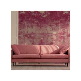 image-Swan Wall Mural (colour: Rose, size: Medium (300w x 320h))