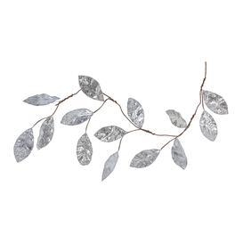 image-AMARA Christmas - Magnolia Leaf Garland - Silver