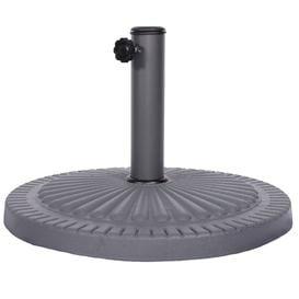 image-Royalcraft Garden 14kg Poly Resin Parasol Base in Charcoal