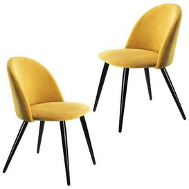 image-Seibert Upholstered Dining Chair Ebern Designs Upholstery Colour: Orche