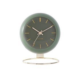 image-Globe Table Clock Karlsson Colour: Green