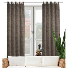 image-Beloit Tab Top Room Darkening Curtain ClassicLiving Size: 270cm H x 225cm W, Colour: Taupe
