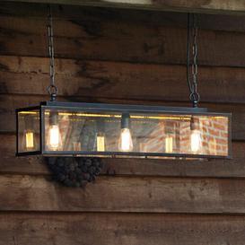 image-Eleni Kitchen Island Pendant Williston Forge Shade Colour: Bronze, Bulb: 4 x E27 32W