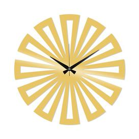 image-Sibylla Silent Wall Clock Mercury Row Colour: Gold
