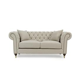 image-Pai 2 Seater Chesterfield Sofa Rosalind Wheeler Upholstery Colour: Beige
