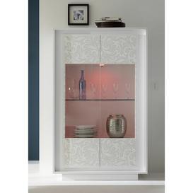 image-Bernardine Vitrine 2 Door Display Cabinet Metro Lane