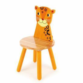 image-Jungle Leopard Children's Desk Chair Just Kids
