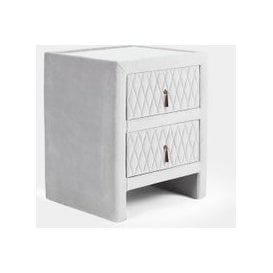 image-Quilted Bedside Table