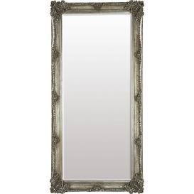 image-Kitt Leaner Mirror Fairmont Park Finish: Silver