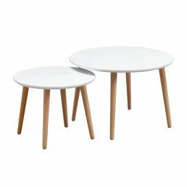 image-Johana 3 Piece Nest of Tables Isabelline