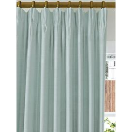 image-John Lewis & Partners Textured Weave Recycled Polyester Pair Blackout Lined Pencil Pleat Curtains