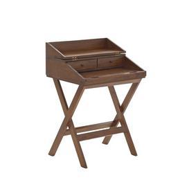 image-Alameda Secretary Desk Beachcrest Home Colour: Brown