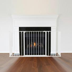 image-Frederick 3 Panel Steel Fireplace Screen