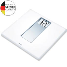 image-Beurer PS160 XXL Digits Acrylic Bathroom Scale - White