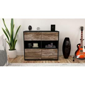 image-Precita Sideboard Mercury Row Body and front colour: Anthracite/Driftwood