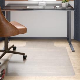 image-Hard Floor Straight Edge Chair Mat Floortex Size: 130cm W x 120cm D