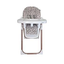 image-My Babiie Katie Piper Blush Leopard Premium Highchair