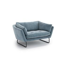 image-Cassiopeiae 2 Seater Loveseat Mercury Row Upholstery Colour: Blue