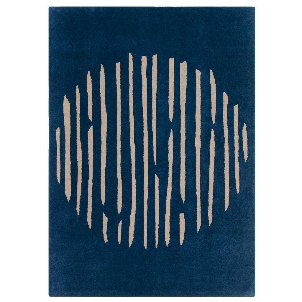 image-Island Blue Rug - 170 x 240 cm