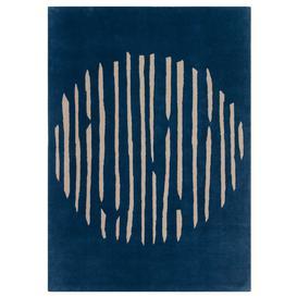 image-Island Blue Rug - 170 x 240 cm / Blue / Wool