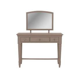 image-Ambriella Dressing Table and Mirror Set