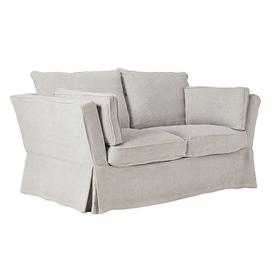 image-Aubourn 2-Seater Sofa COVER ONLY - Silver Grey