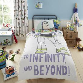 image-Disney Toy Story Character Reversible Single Duvet Cover and Pillowcase Set White