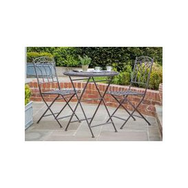 image-Gallery Direct Burano Brown Ember Outdoor Garden Bistro Set