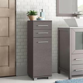 image-Myrna 30 x 89cm Free Standing Tall Bathroom Cabinet Zipcode Design