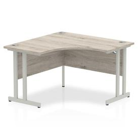 image-Zetta L-Shaped Executive Desk Ebern Designs