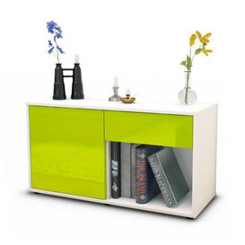 image-Keyon Sideboard Mercury Row Body/Front colour: White/Green