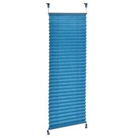 image-Symple Stuff Semi-Sheer Pleated Blind Symple Stuff Colour: Turquoise, Size: 125cm L x 35cm W