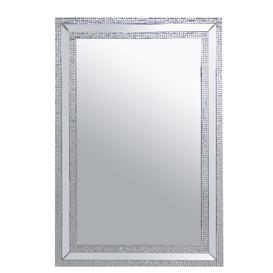 image-Cross Rectangle Large Accent Mirror Rosdorf Park