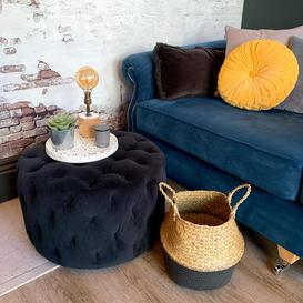 image-Kingston Round Footstool