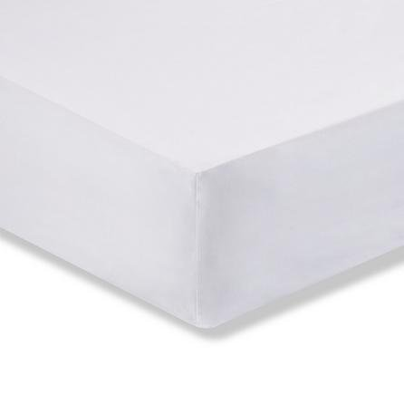 image-Fogarty Soft Touch Fitted Sheet White