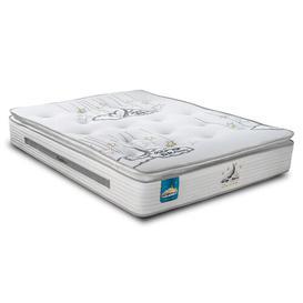 image-Aero Gravity Reflex Plus Pillow-Top Open Coil Mattress Sareer Size: Single (3')