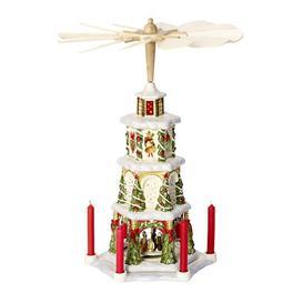 image-Christmas Pyramid Porcelain Candelabra Villeroy & Boch